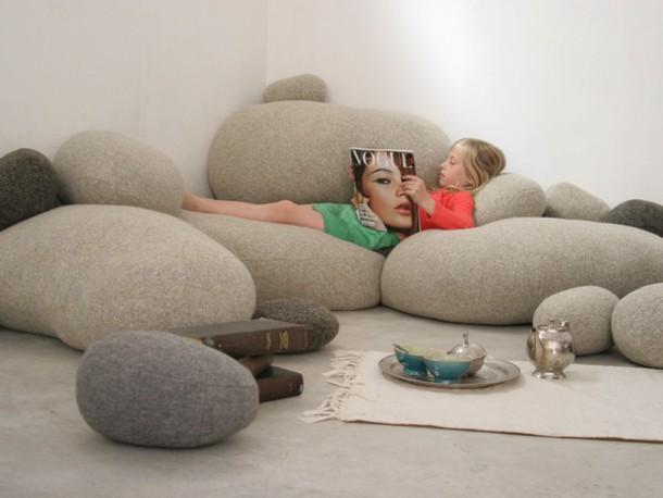 make-up living stone pillows