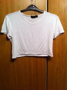White Crop Top | eBay