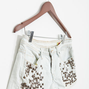 Blank Nyc Shorts — Bib   Tuck on Wanelo