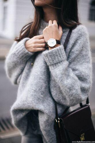 sweater warm sweater winter sweater grey sweater cashmere jumper oversized sweater daniel wellington watch cozy sweater dress grey long dress casual long sweater long sleeves sunglasses oversized turtleneck sweater elegant casual casual sweater pullover knitwear cardigan fuzzy sweater laine top