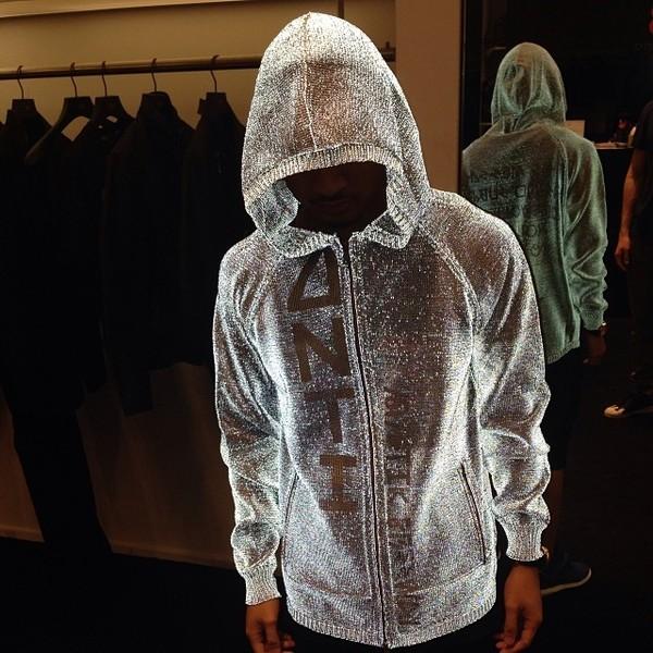 shirt sparkle white silver swag swag boy miley cyrus