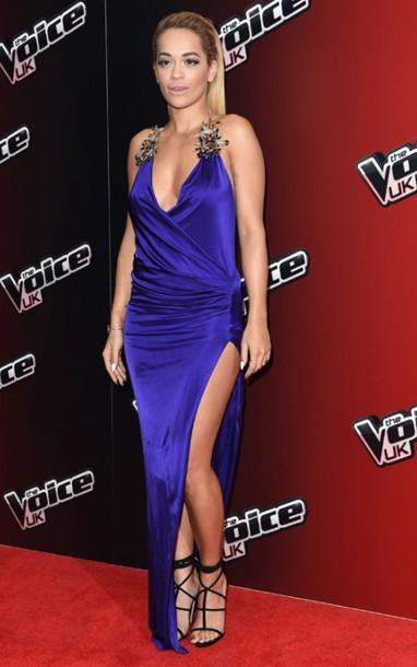 blue shirt blue prom dress prom dress dress