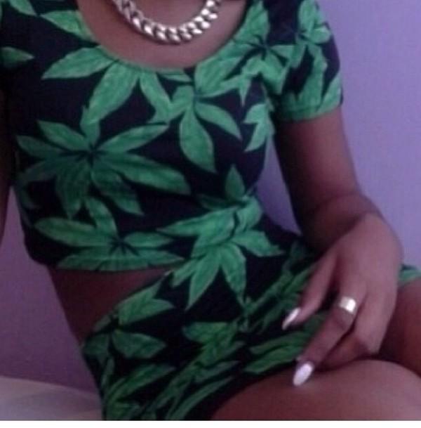 shirt iluminati tumblr weed dope girl beautiful bling