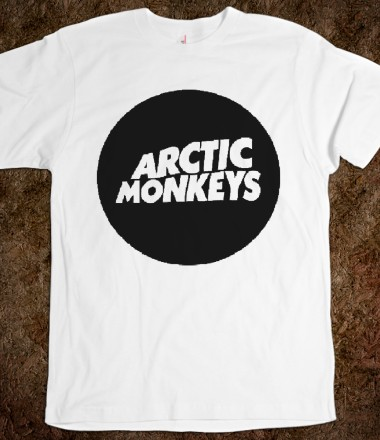Arctic Monkeys - Lazy Tops - Skreened T-shirts, Organic Shirts, Hoodies, Kids Tees, Baby One-Pieces and Tote Bags Custom T-Shirts, Organic Shirts, Hoodies, Novelty Gifts, Kids Apparel, Baby One-Pieces   Skreened - Ethical Custom Apparel