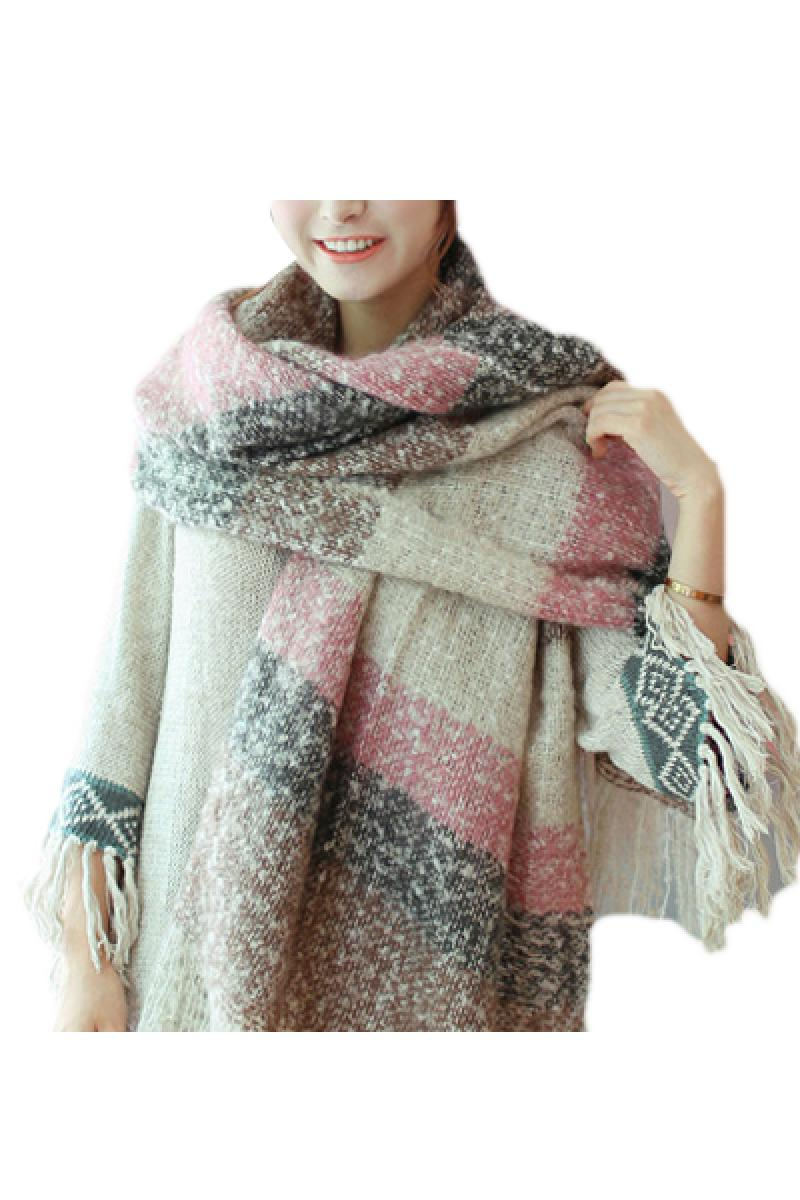 Autumn & Winter Mohair Double Purpose Long Soft Warm Scarf,Cheap in Wendybox.com