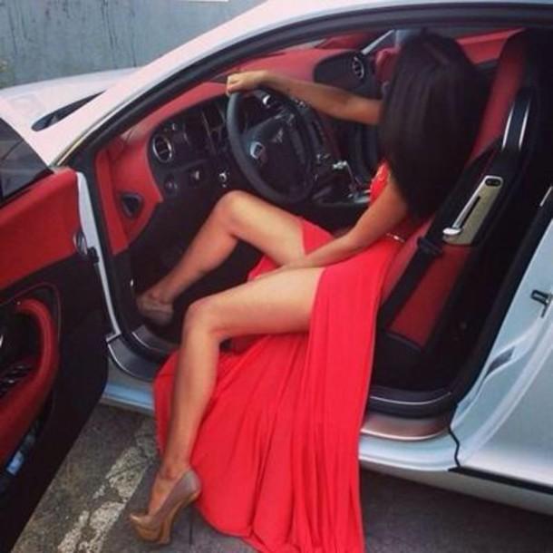 dress prom dress red carpet long red dress formal sexy dress