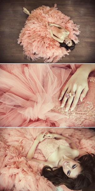 dress pink dress love it! prom quinceanera dress