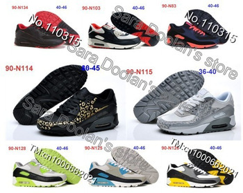 2013 New design Leopard 90 Shoes Fashion Air Men/ Women design Shoes max High quality Trainers-in Women's Shoes from Shoes on Aliexpress.com