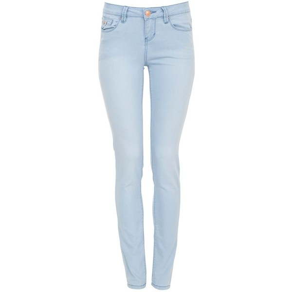 28in Light Blue Supersoft Skinny Jeans - Polyvore