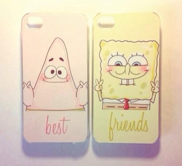 bag iphone cover iphone case iphone 5 case iphone 5 case iphone iphone 5 case bff spongebob spongebob patrick patrick star phone cover