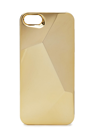 Metallic Angular Phone Case   FOREVER 21 - 1000126491
