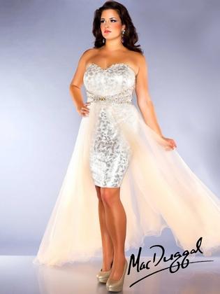 Mac Duggal Fabulouss Plus Size Prom Dress 76665F : DressProm.net
