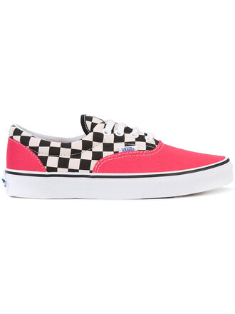 women sneakers red shoes