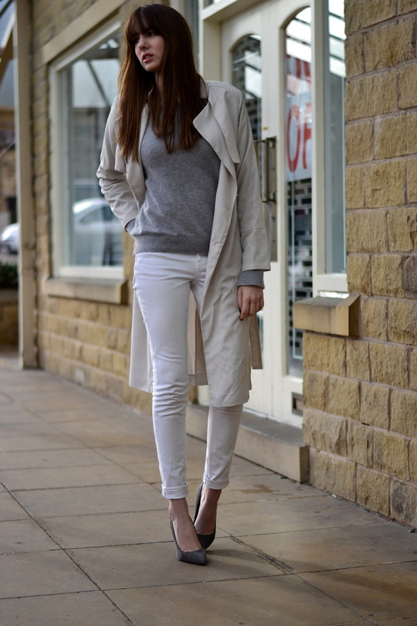 shot from the street coat sweater jeans shoes