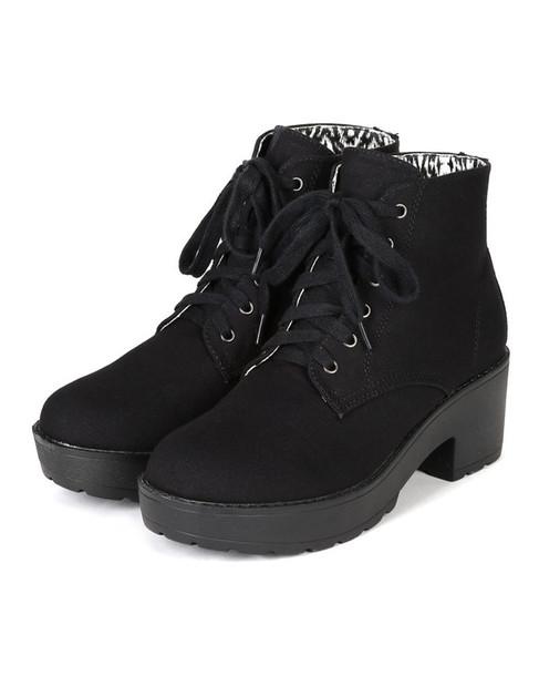 shoes platform booties