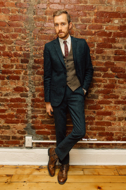 stay classic blogger mens suit