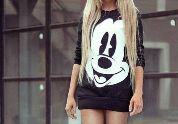 sweater mickey mouse hoodies little black dress mickey mouse mouse mickey mouse disney disneyworld pullover black oversized sweater mickeymouse sweater hoodie dress black dress sweatshirt