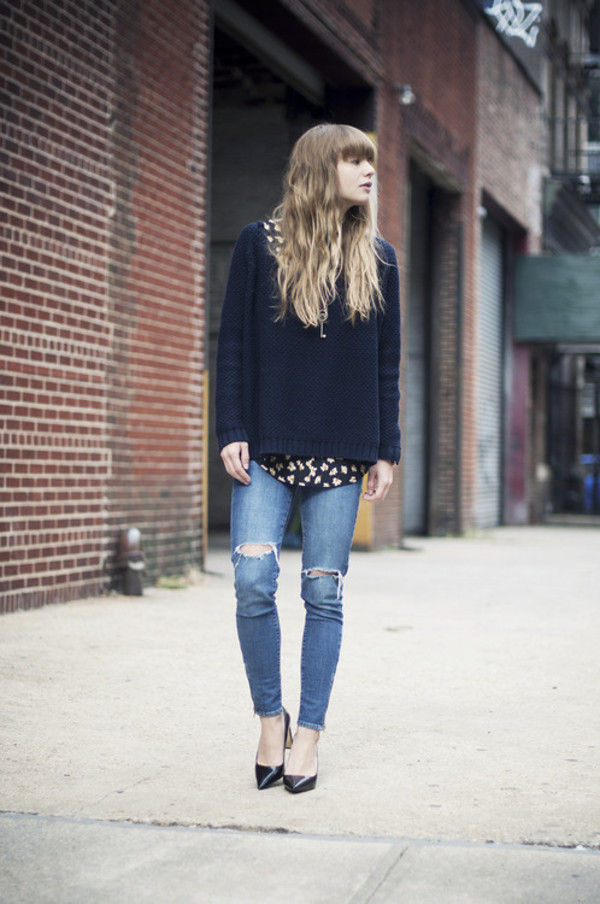 just another me coat sweater blouse jeans shoes jewels
