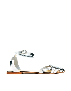 ASOS   ASOS FAITHLESS Leather Sandals at ASOS