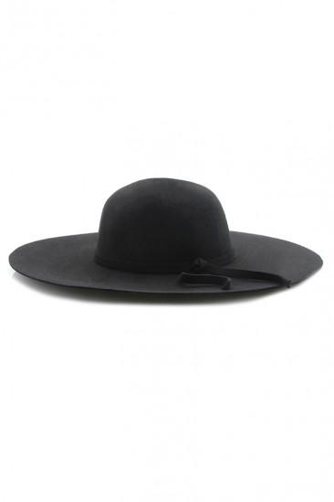OMG Crown Akubra Hat - Black