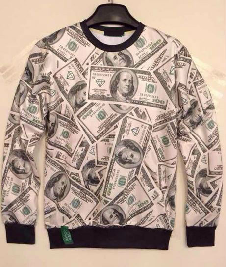 Benjamins Money Sweatshirt from Tumblr Fashion on Storenvy