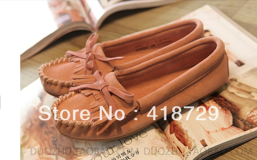 chaussures femmes free shipping womens schuhe Casual Suede Leather Slip on Loafers les mocassins Driving zapatillas tenis Shoes-in Flats from Shoes on Aliexpress.com