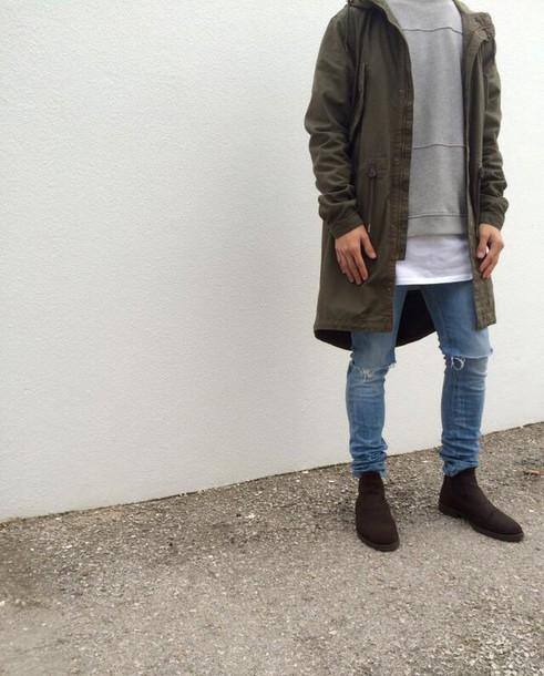 jacket parka fashion h&m unisex