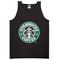 Starbucks coffee black tanktop - basic tees shop