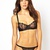 ASOS Boudoir Art Nouveau Black Lingerie Set at ASOS