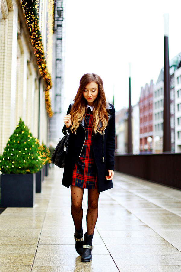flirting with fashion coat dress sweater shoes bag scarf