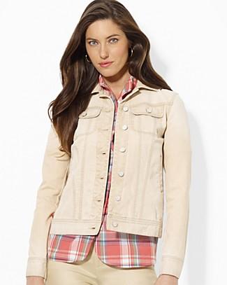 Lauren Ralph Lauren Jacket - Button Front   Bloomingdale's