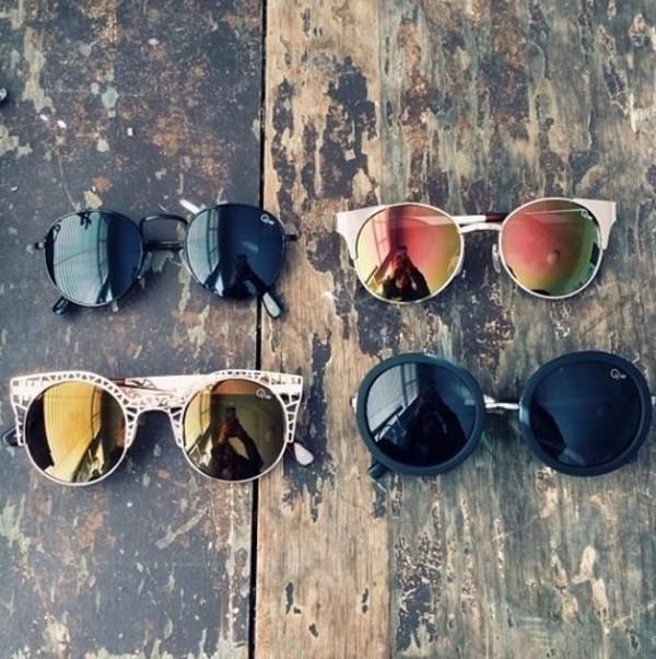 sunglasses cute pretty brand designer logo crop tops pattern black white holigraphic sun bikini summer