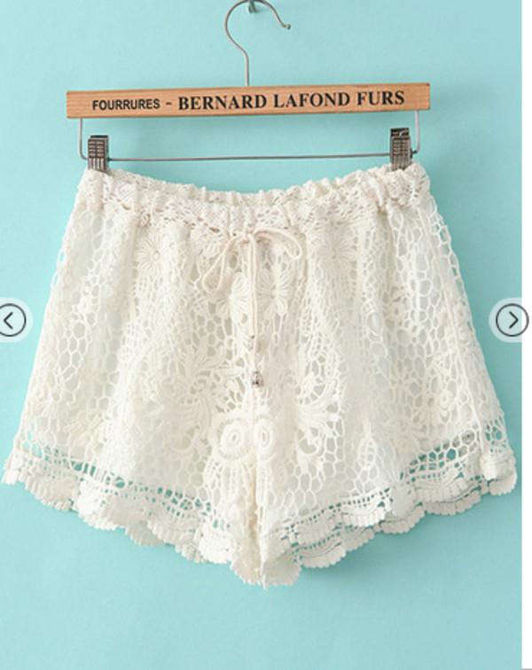 shorts short prom dress bikini white 326525 dentelle lace