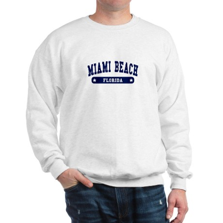 Miami Beach College Style Sweats by 1000uscities2