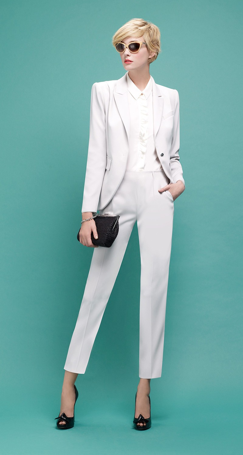 Shirt in crepe de chine  - Tops - COLLECTION - Pre-collection Spring 2014