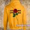 Rose loves me not hoodie - teenamycs