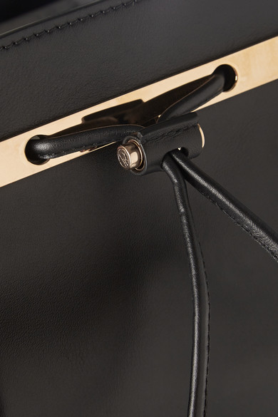 The Row | Leather backpack  | NET-A-PORTER.COM