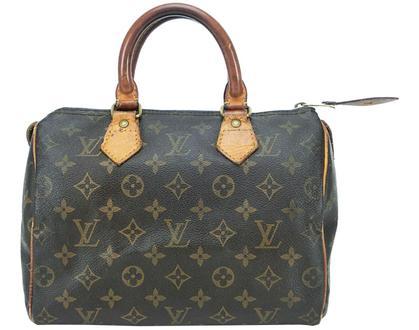 Authentic Louis Vuitton Speedy 25 Monogram Boston Hand Bag Purse 6327 | eBay