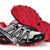 Salomon Speedcross 3 Trainers Mens Outdoor Athletic Running Sports Shoe grey black red