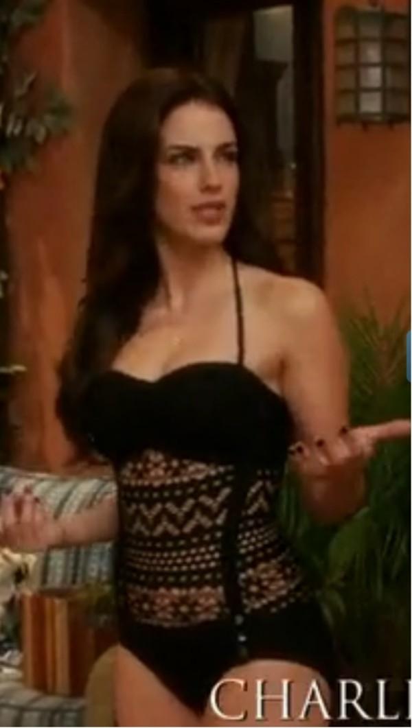 swimwear 90210 celebrity sabz swimwear crochet swimwear black swimwear monokini one piece swimsuit elite fashion swimwear