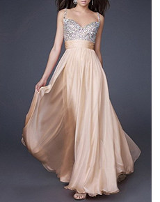 Step into Sparkle Long Prom DressMy Special Dress