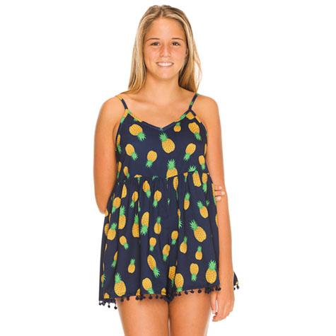 Mooloola Girls Pineapple Time Playsuit
