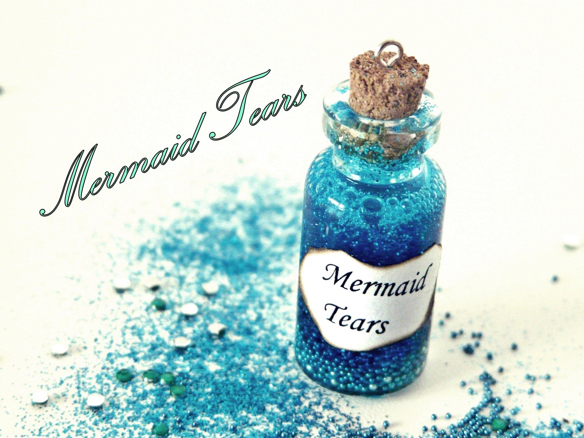 Mermaid Tears Miniature Bottle Charm - YouTube