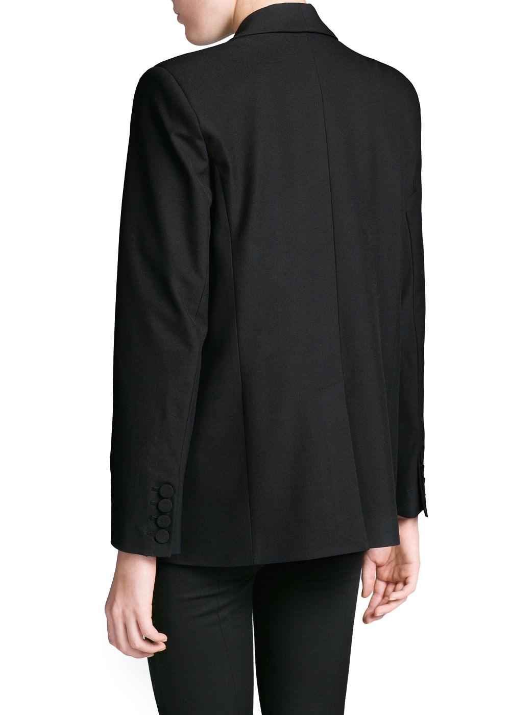 Basic straight-cut blazer -    Dames - MANGO
