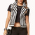 Striped Moto Vest | FOREVER21 - 2000075391