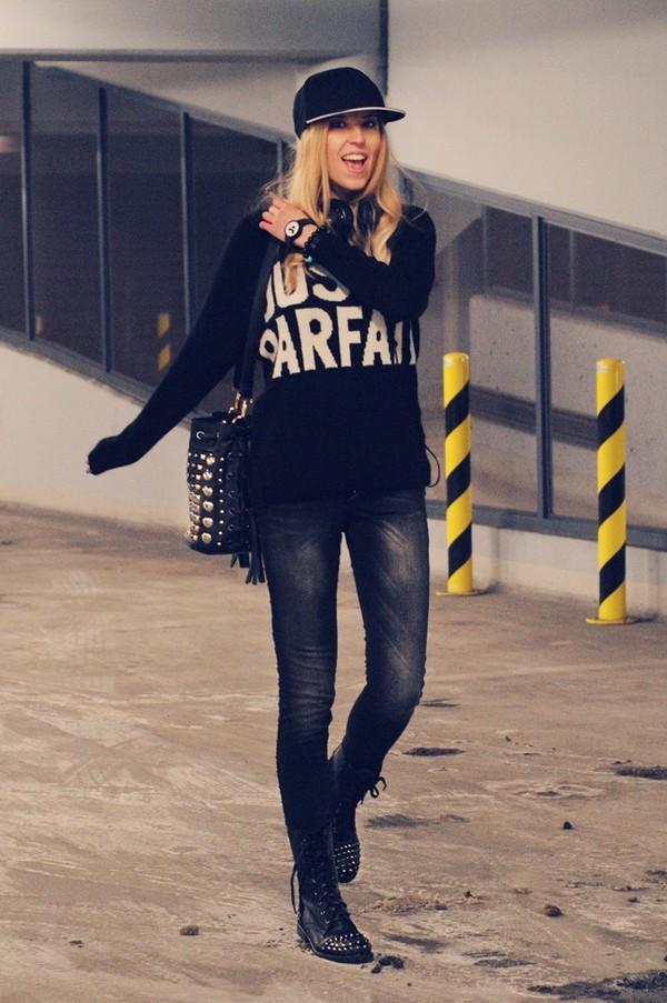 meri wild sweater jeans bag shoes jewels