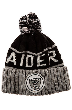 Mitchell & Ness Hat Oakland Raiders High 5 Beanie in Black -  Karmaloop.com