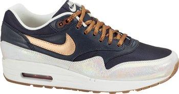 Nike Wmns Air Max 1 Premium armory navy/rugged orange/metallic luster Damen-Sneaker: Sneaker Preisvergleich - Preise bei idealo.de