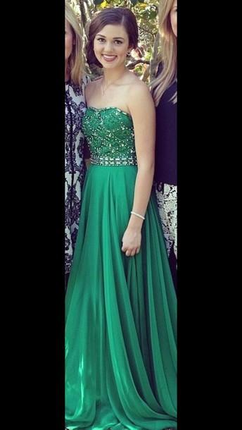 dress sherri hill green dress sadie robertson