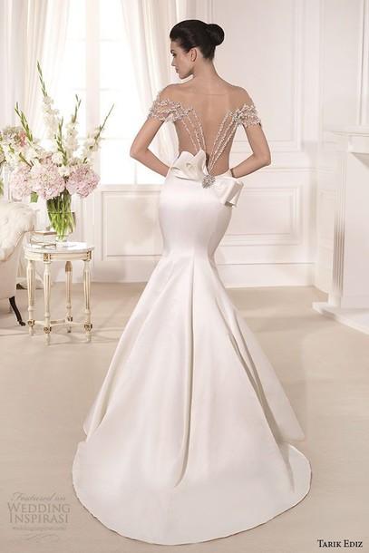 dress wedding dress white dress girl luxury backless dress